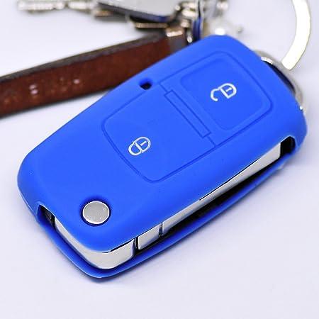 Soft Case Schutz Hülle Auto Schlüssel Für Vw Golf Polo Elektronik