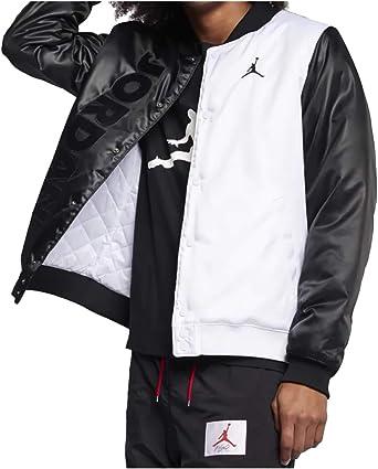 Tom Audreath agitación caja  Amazon.com: Nike Jordan Legacy Retro 11 - Chaqueta de satén para hombre, M:  Clothing