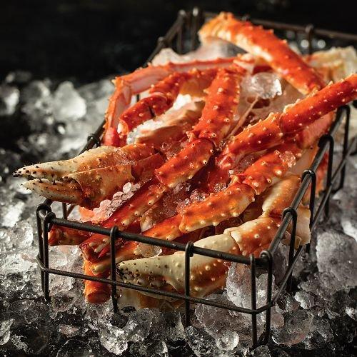 Omaha Steaks 1 (2 lbs.) King Crab Legs King Crab Weight