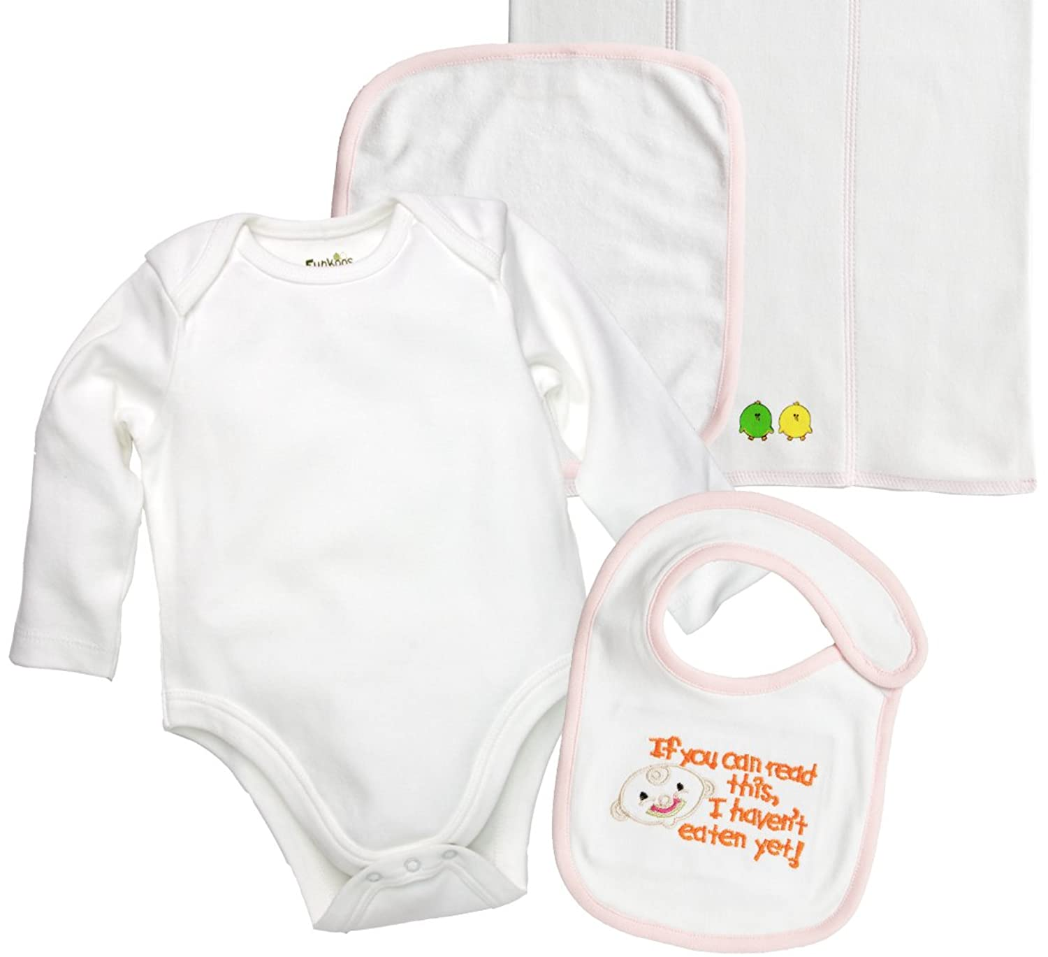 c67962638 Funkoos 4-piece, Organic Cotton Infant-and-toddler-layette-sets for ...