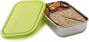 U-Konserve Divided Rectangle Stainless Steel Container 25oz - Lime