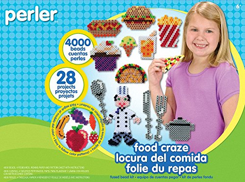 Perler Beads Food Craze Fused