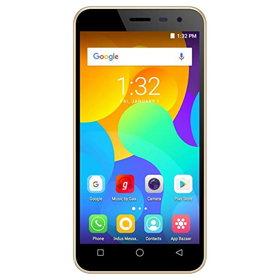 Micromax Spark Vdeo 4g Volte Q415 Champagne Amazon In Electronics