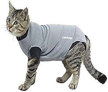 Buster Easygo - Body para gatos, Negro/Gris, XXS 33 cm): Amazon.es ...