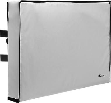 Garnetics Funda de TV para exteriores, compatible con televisores planos de 22 a 75 pulgadas, resistente a la intemperie y resistente al agua – Universal para cualquier pantalla plana y soporte: Amazon.es: Electrónica