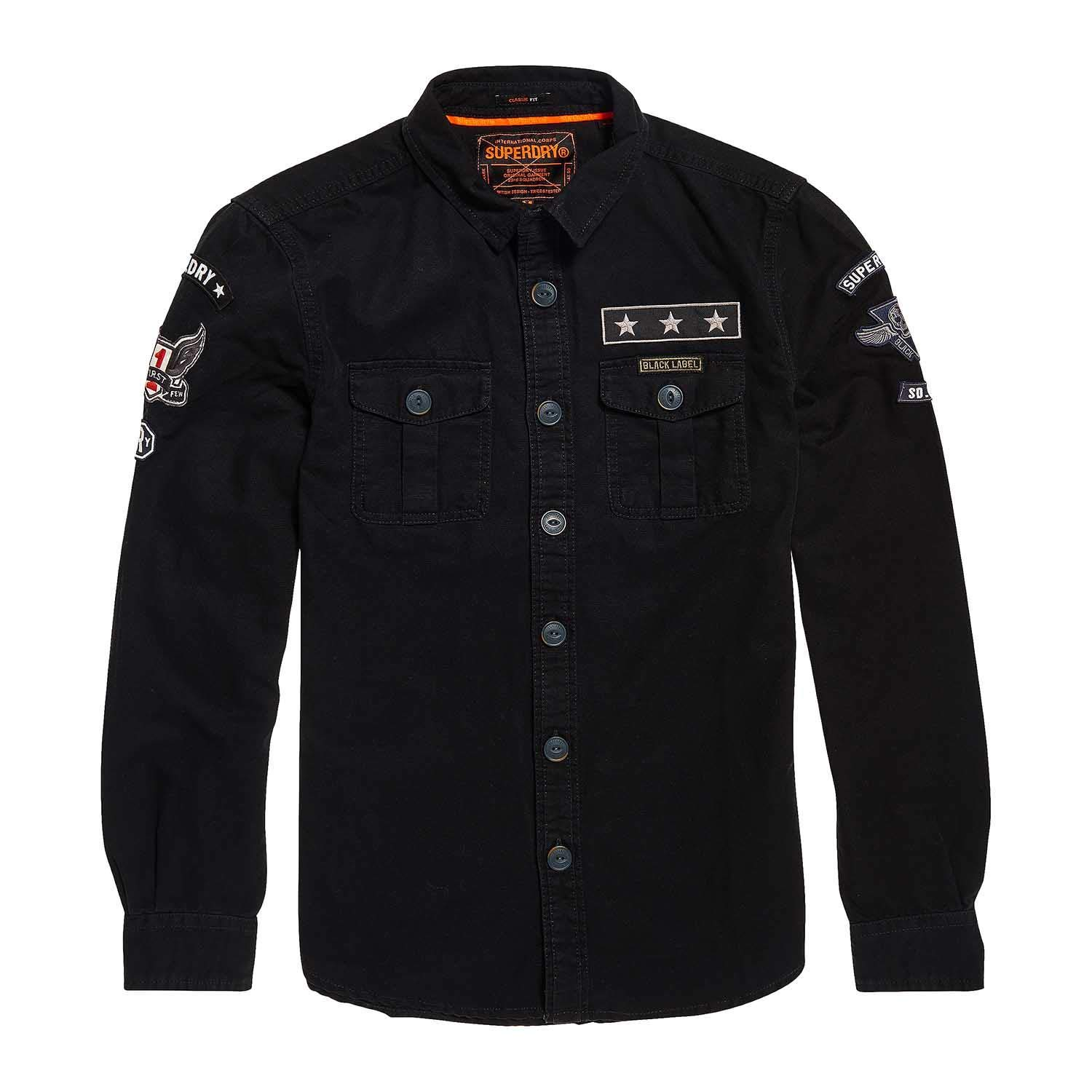Superdry Military Storm, Camisa para Hombre