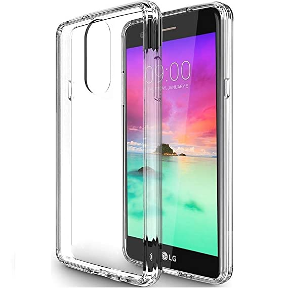 reputable site 22f04 4f387 LG Stylo 4 Case, LG Stylo 4 Plus/LG Q Stylus/LG Stylus 4 Case Clear,  SKTGSLAMY Scratch Resistant TPU Rubber Soft Skin Silicone Protective Case  Cover ...