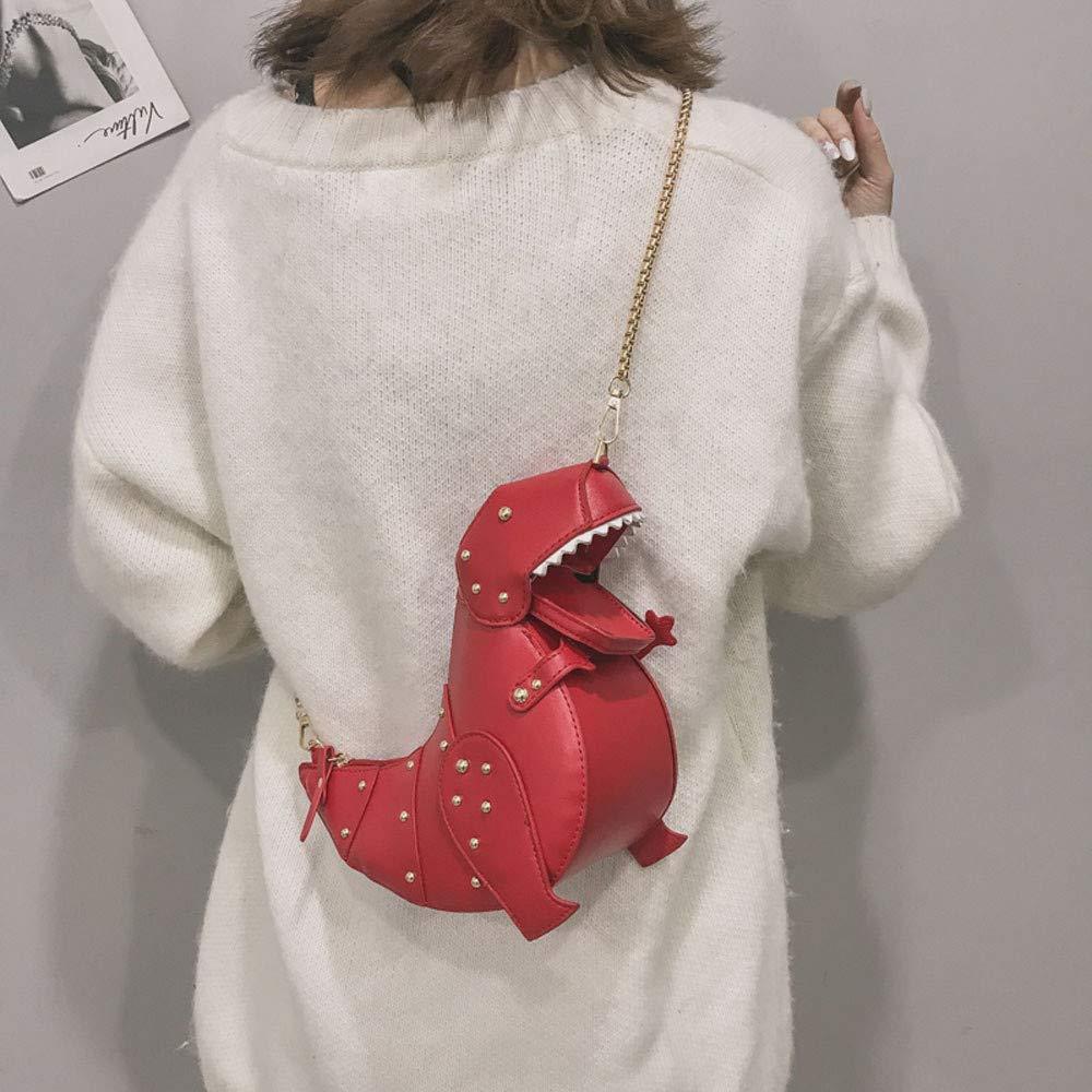Sencillo Vida Bolsos Bandolera de Mujer Bolsa de Piel Dinosaurio Bolsos de mano bolsos desigual bolsos fiesta mochila Bolso para Viaje Escuela Trabajo