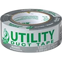 Duck 1.88 Inch x 55 Yard Utility Duct Tape (Silver)