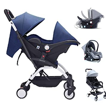 LZX 3IN1 Cochecito Bebe Silla de Paseo Sillas Ligera Carrito Silletas Ligeras Confort Bee Baby Jogger City Tour Sillita London Monster Compact Mini Capota ...