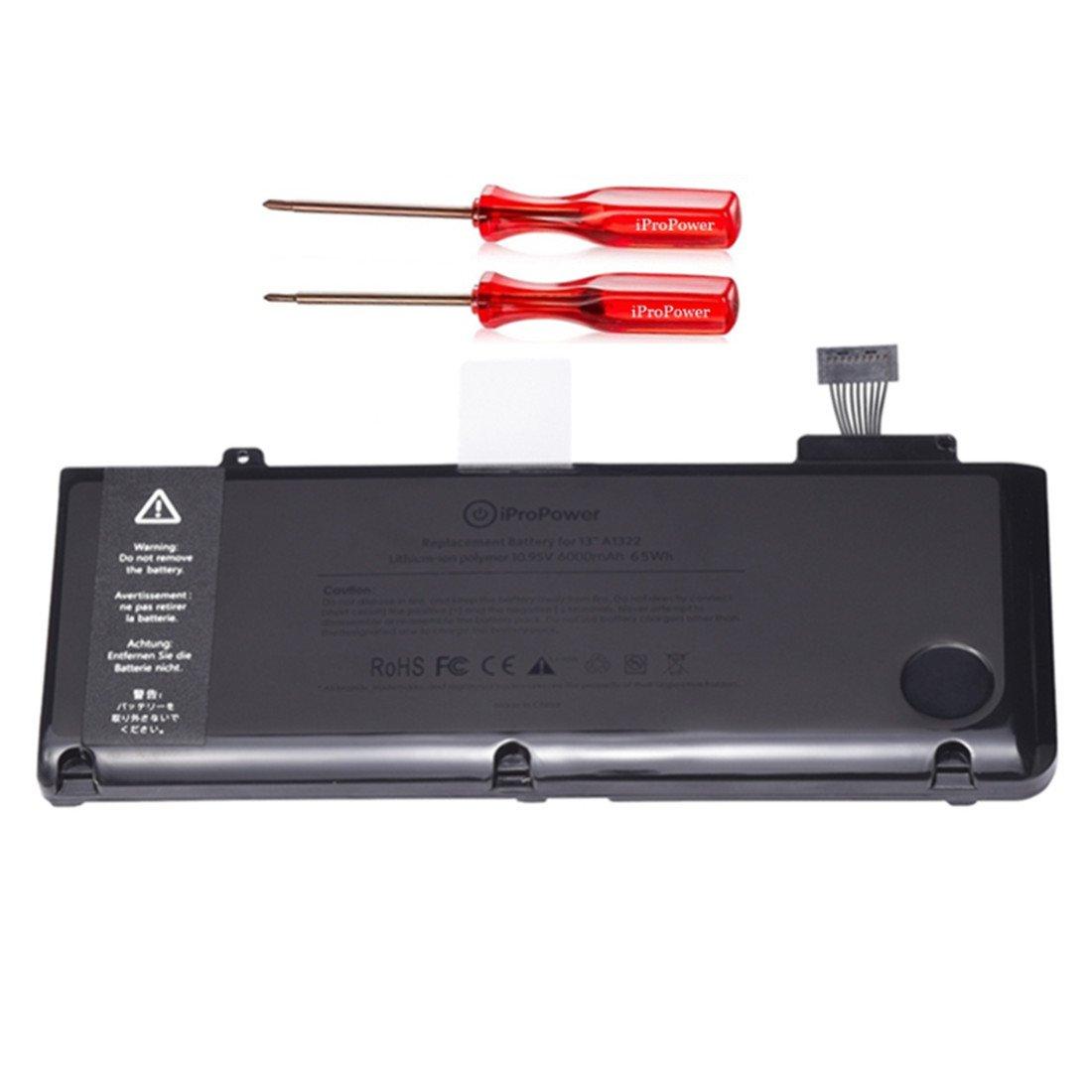 Bateria A1322 Compatible Macbook Pro 13 Inch A1278 Mid 2009 Mid 2010 2011 Mid 2012 Version 6000mah