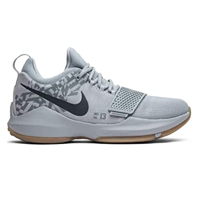 new product c0804 fbae4 Nike PG 1 Wolf Grey/Wolf Grey-Cool Grey (9.5 D(M) US)