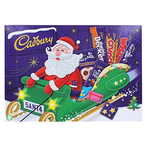 Cadbury Santa Selection Box 6 34oz product image