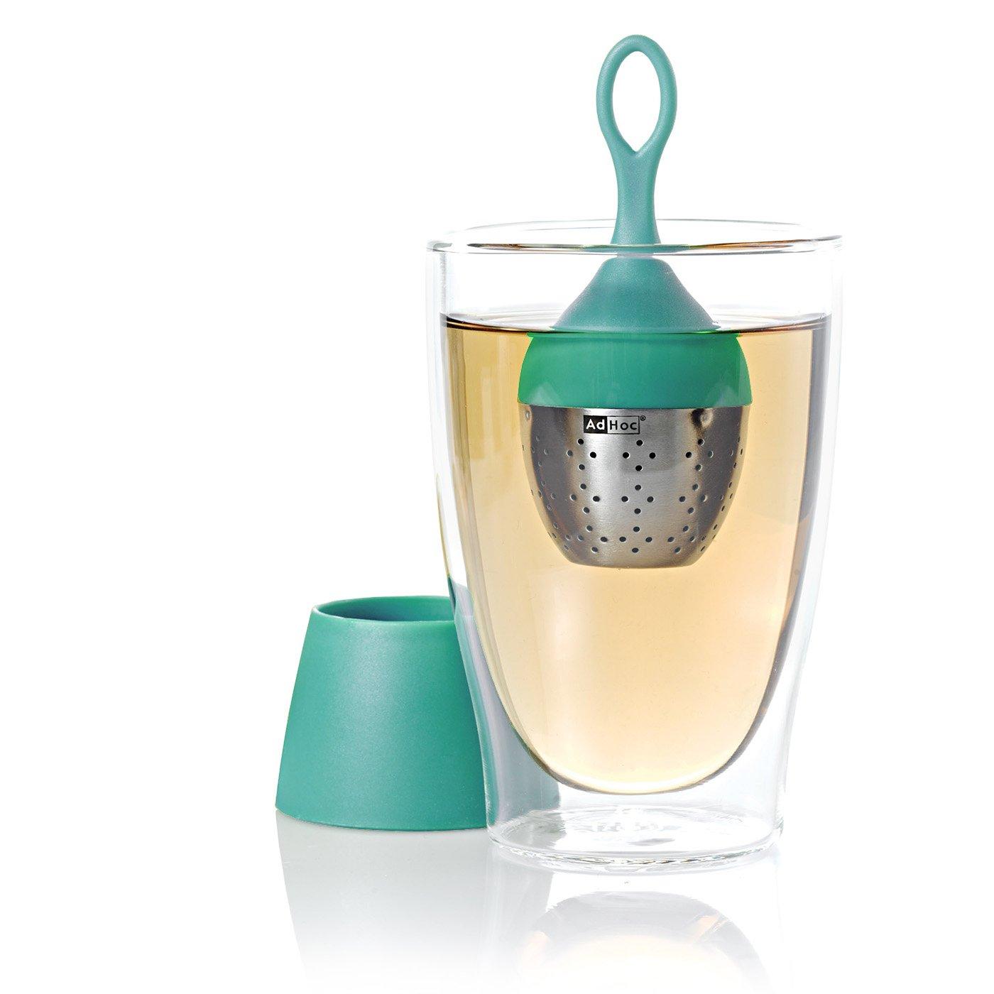 Ad Hoc Floatea Floating Tea Infuser, Turquoise