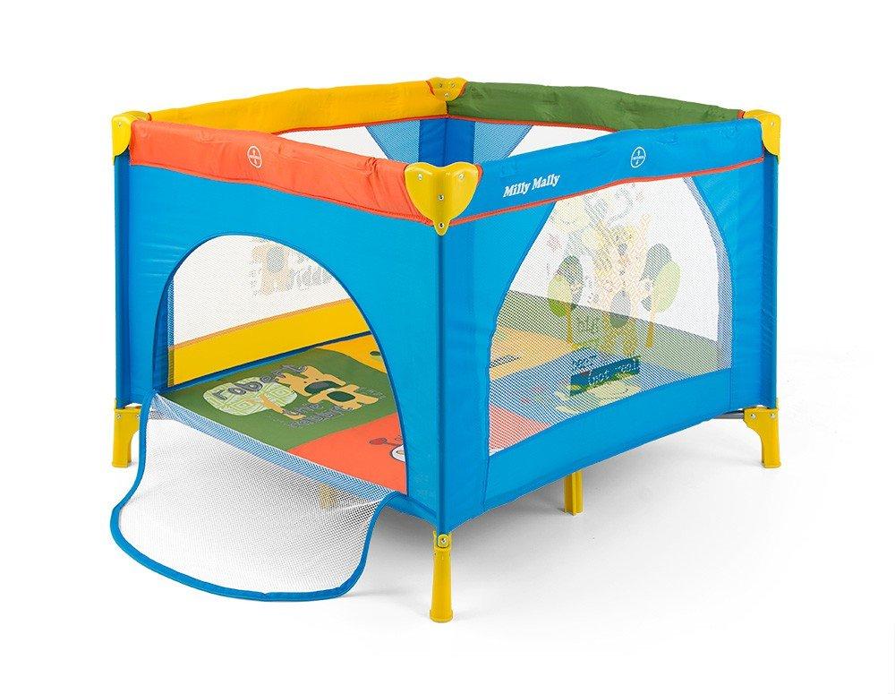 Milly Mally–Box con ottimale circolazione dell' aria, vespe foro con materasso e custodia Multicolore Milly Mally_22534