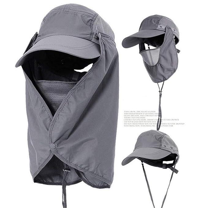 Sombrero de verano para mujeres Sombrilla al aire libre Gorra de ...