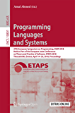 Programming Languages and Systems: 27th European Symposium on Programming, ESOP 2018, Held as Part of the European Joint Conferences on Theory and Practice ... Science Book 10801) (English Edition)