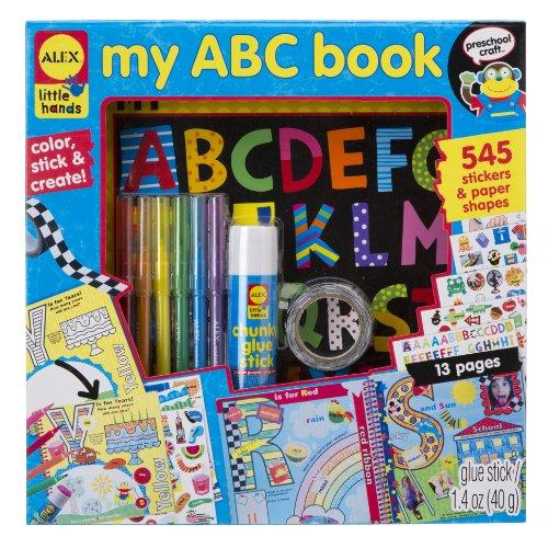 ALEX Toys Little Hands My ABC Book Keepsake
