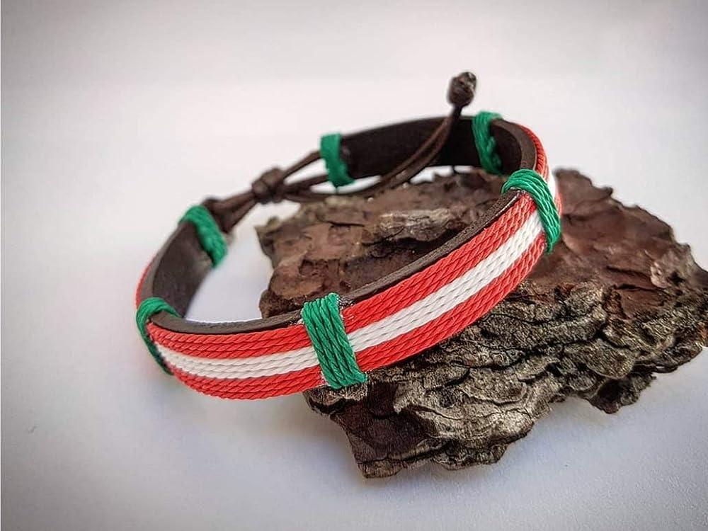Pulsera Ikurriña: Amazon.es: Handmade