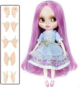 Blythe Doll BJD, Factory Neo Blythe Doll Nude Customized