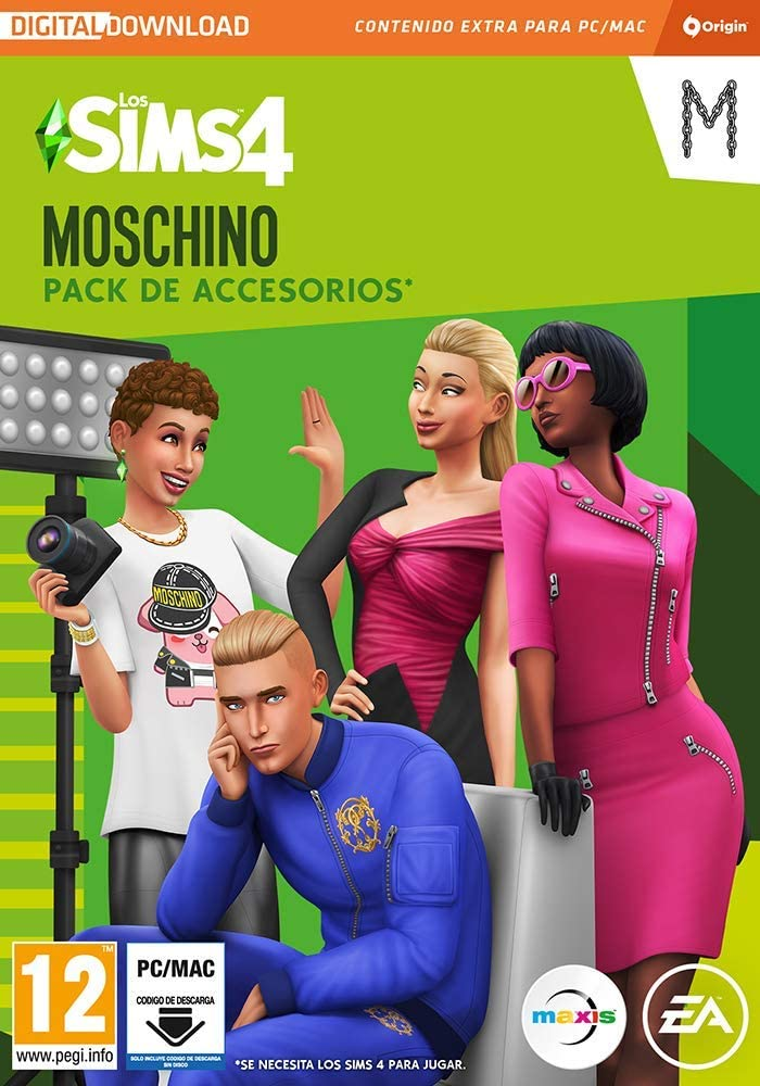 Los Sims 4 - Moschino Stuff Pack DLC | PC Download - Origin Code ...