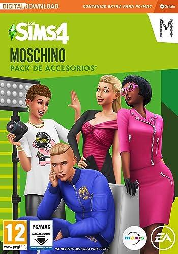 Los Sims 4 - Moschino Stuff Pack DLC   PC Download - Origin Code: Amazon.es: Videojuegos