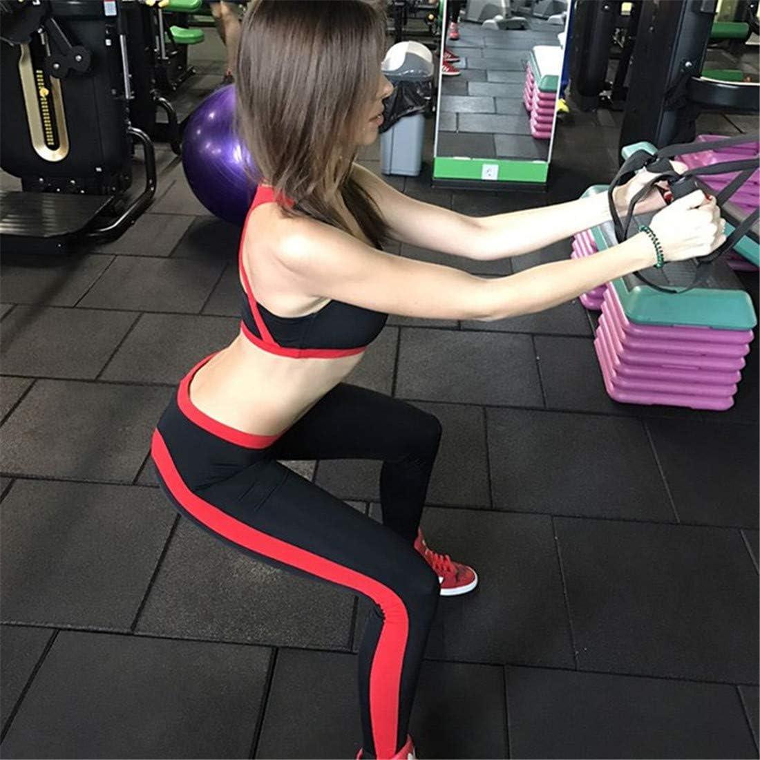 Globaltrade001 Mujer Yoga Leggins Cintura Alta Coraz/ón Mallas Push Up Pantalone Deportive Fitness Leggings Pantalones Skinny