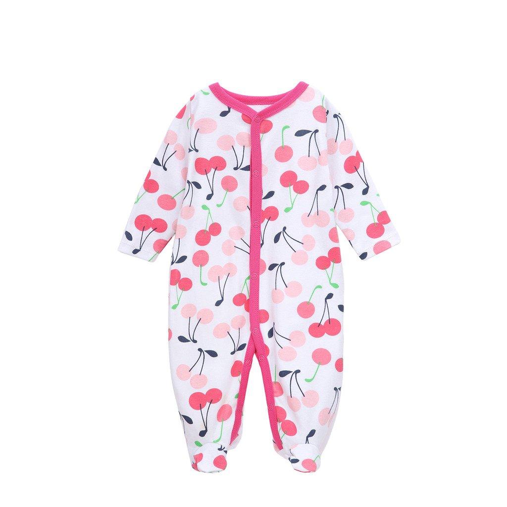 Babe Maps Unisex Baby Footie Pajamas Long Sleeve Sleep 'N Play