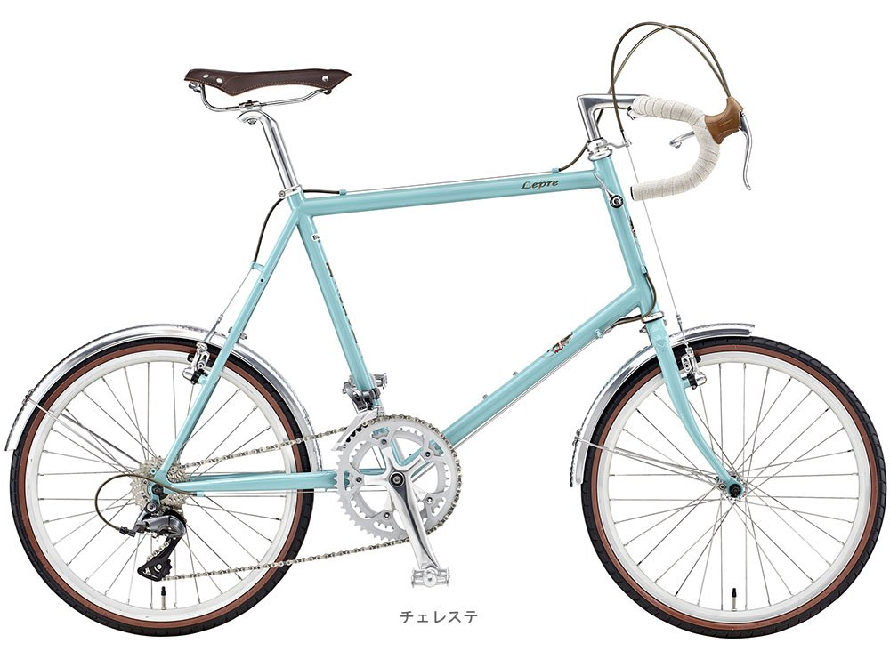 BIANCHI(ビアンキ) 2018 MINIVELO-8 DROP CLARIS(2x8段)ミニベロバイク <チェレステ> B077YZQKY4 48