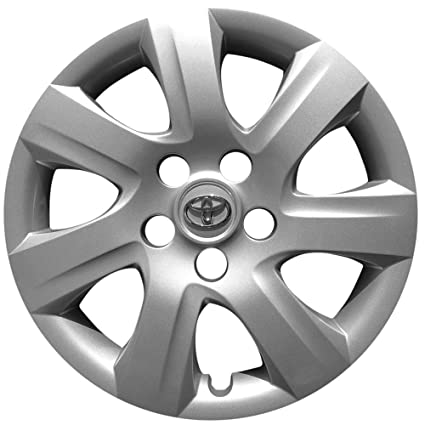 Amazon.com: OEM Genuine Toyota Wheel Cover - Professionally Refinished Like New - 16-inch Replacement Hubcap Fits 2010-2011 Camry - 61155 (Pack of 1): ...
