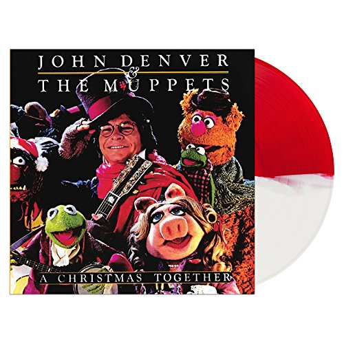 A Christmas Together Red & White Vinyl (John Together Denver Christmas)