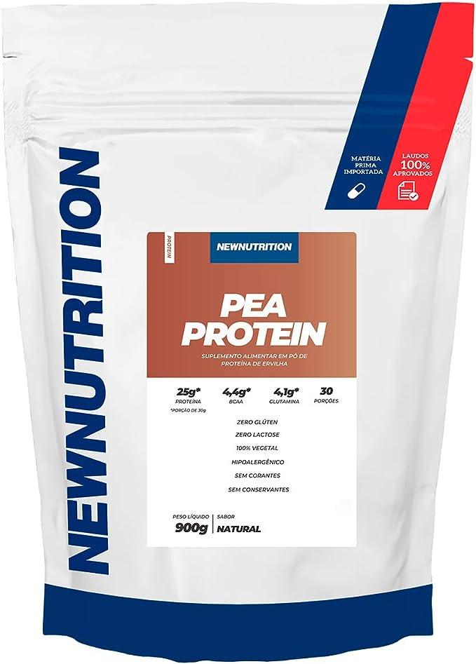 Pea Protein - 900g Sabor Natural - NewNutrition, Newnutrition
