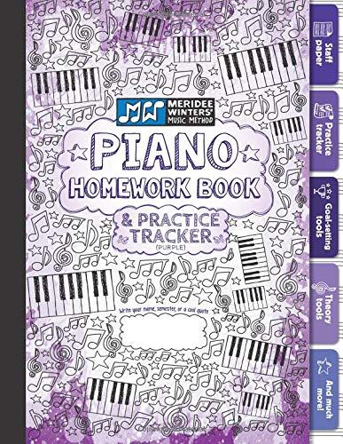Download Piano Homework Book and Practice Tracker (Purple) pdf