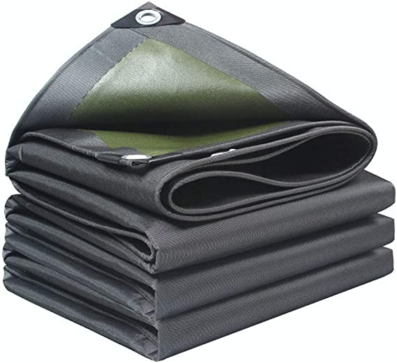 ZXXY Cubierta Impermeable para Lonas, de Color Gris Oscuro para ...