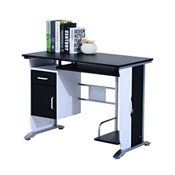 reviews l desk shaped modern computer star north desks wayfair homcom