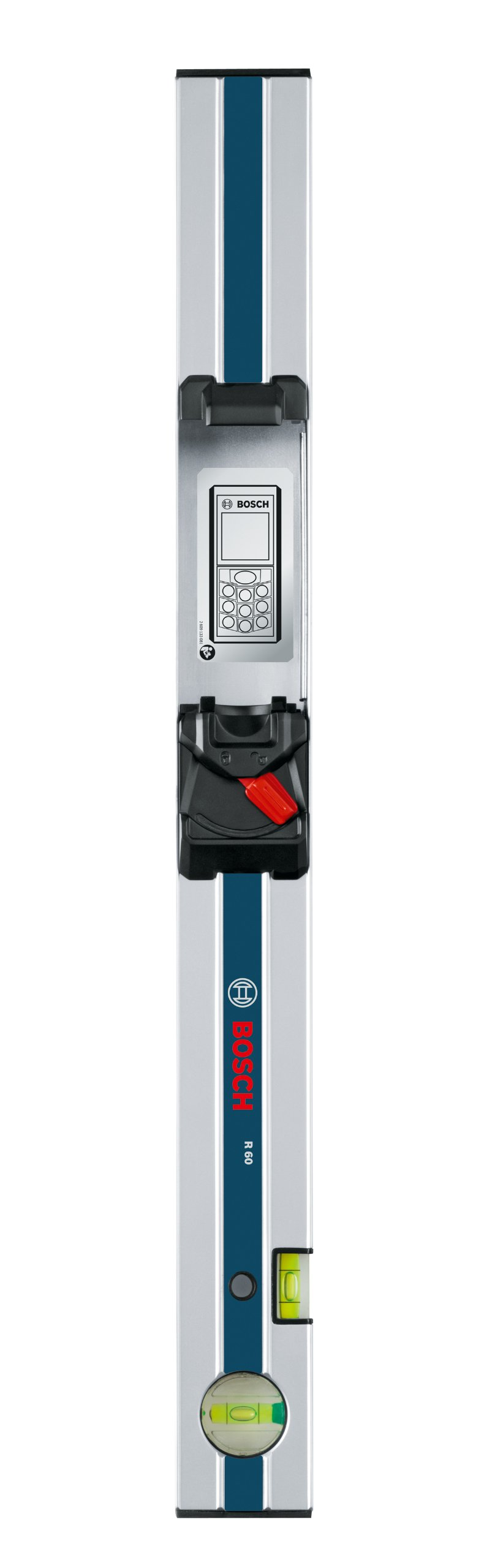 Bosch R60 Measuring Rail 600mm - For use with GLM 80 inclinometer function