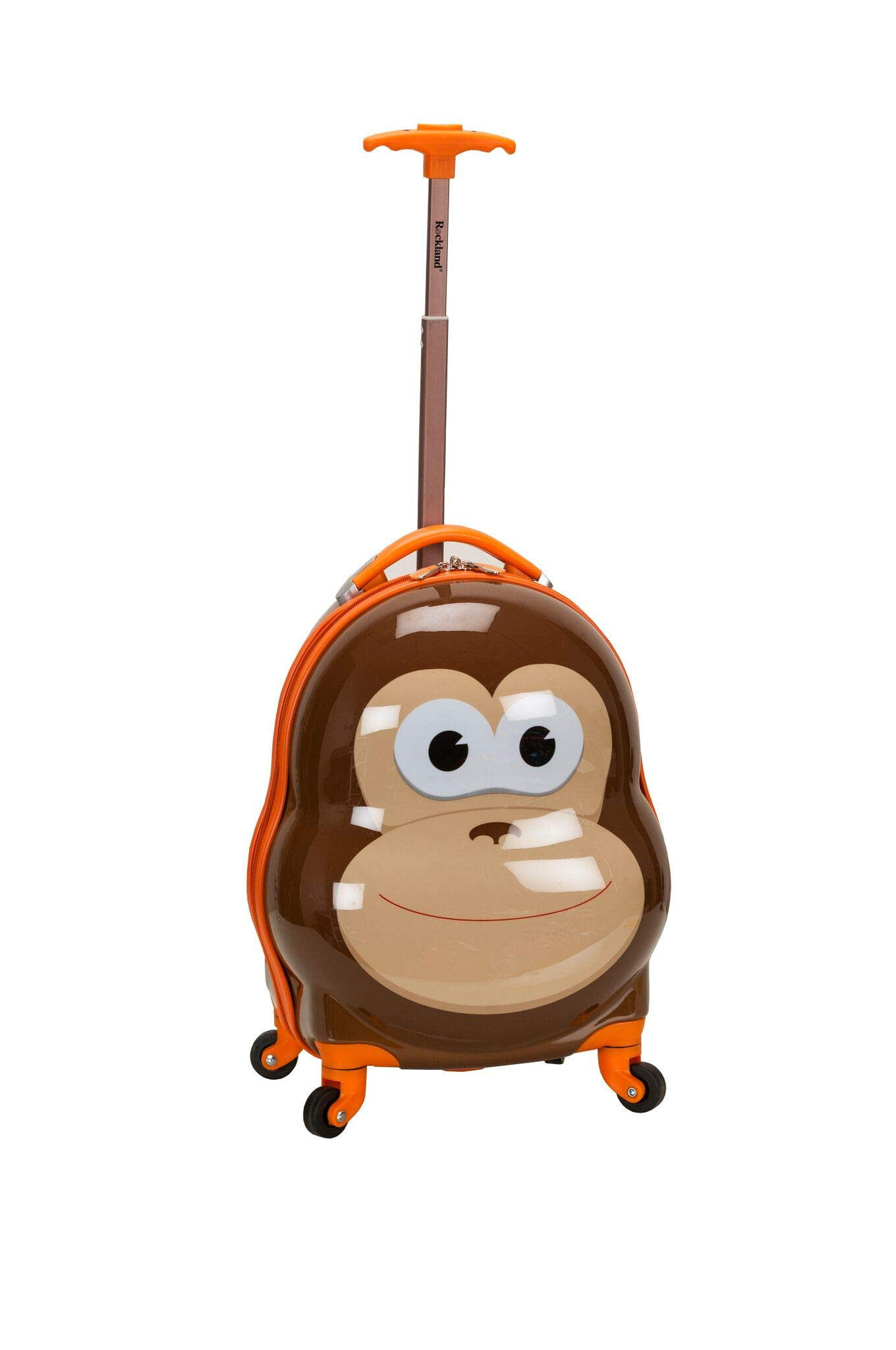 Rockland Jr. My First Luggage Hardside Carry-on (MONKEY)