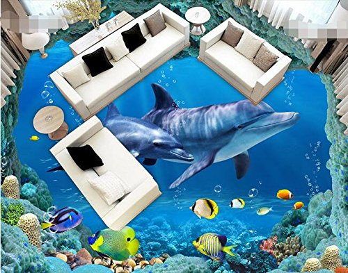 3d Pvc Fußboden ~ Lwcx d wallpaper custom waterproof d flooring pvc sea world