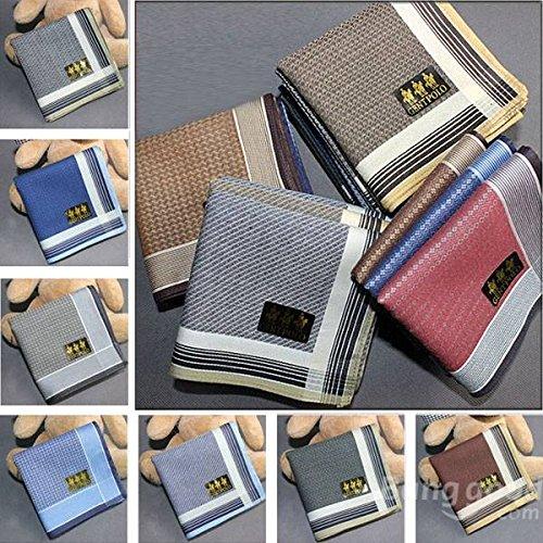 Mark8shop Soft Cotton Upscale Boutique Men Women Handkerchief Pocket Hanky