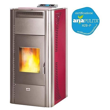 termoestufa de bajo consumo, potencia 18,22kw Idro boerdeaux calentamiento Queen