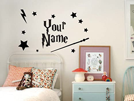 Camera Da Letto Stile Harry Potter : Profilesigns.co nome personalizzato con harry potter style wall art