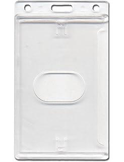 Transparent Durable 892819 Kartenhalter Permanent 10 St/ück f/ür dauerhaften Einschluss von Karten//Ausweisen