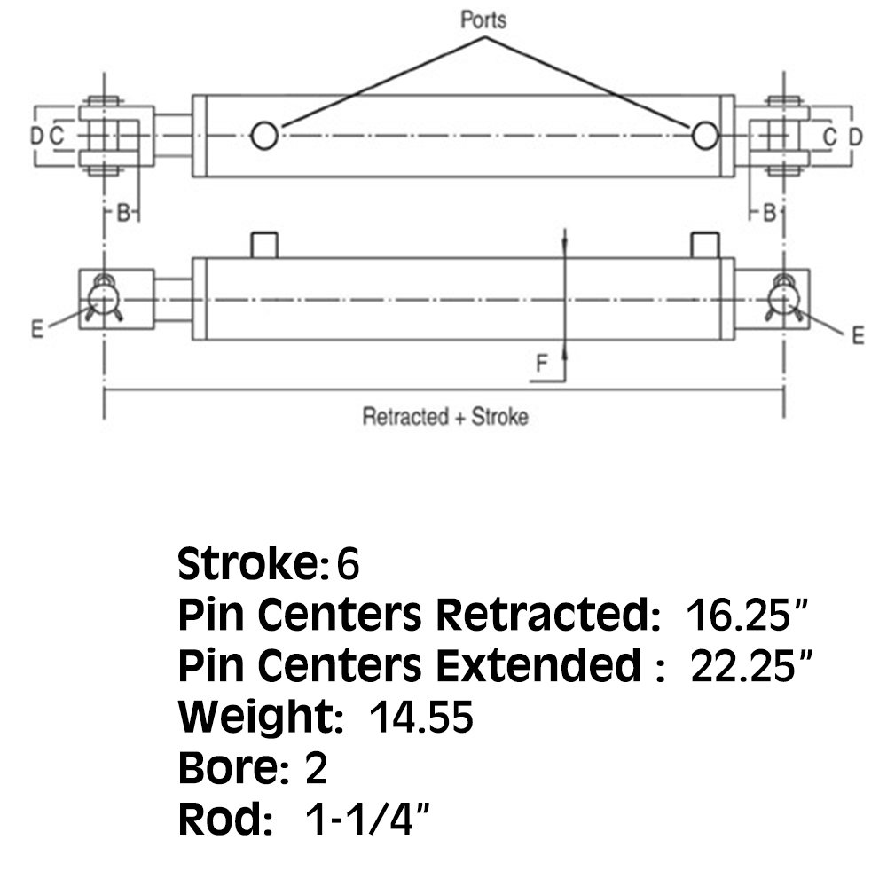 HYI40-0651 One New Cylinder Fits Universal Products 2006 Models Interchangeable with HCW-2006