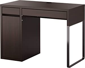 IKEA Micke Desk, Black-Brown