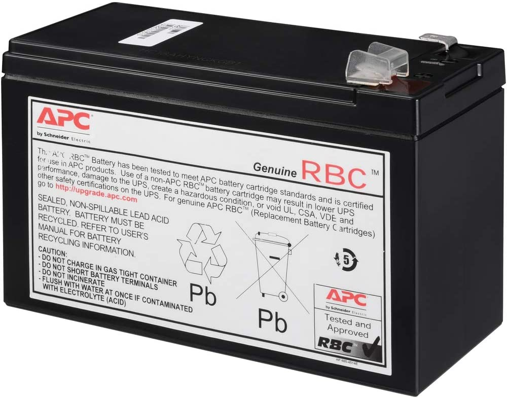 New Battery for APC RBC17 Compatible Replacement by UPSBatteryCenter