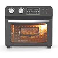Mighty Chef Black Edition Jumbo Air Fryer Oven 23L All 8 Accessories Included 1700W Dehydrator Rotisserie Zero Guilt 80…