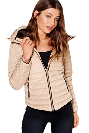 12a126968641 H F Girls Women Ladies Zara Inspired Quilted Bubble Puffer Padded ...