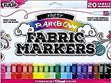 Tulip 20pc Fabric Marker Fine Tip Rainbow