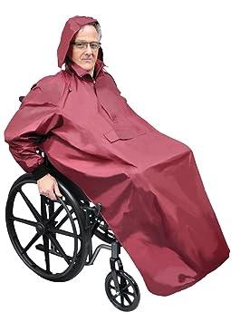 Aidapt VA127S - Chubasquero para silla de ruedas (talla M, de cabeza a pies): Amazon.es: Hogar