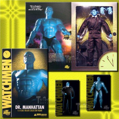 Costume Manhattan Dr (Watchmen  Dr. Manhattan 1:6 Scale)